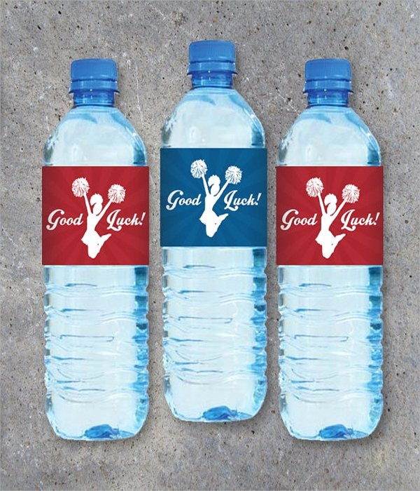 Free Water Bottle Label Template New 20 Label Template Psd Vector Eps