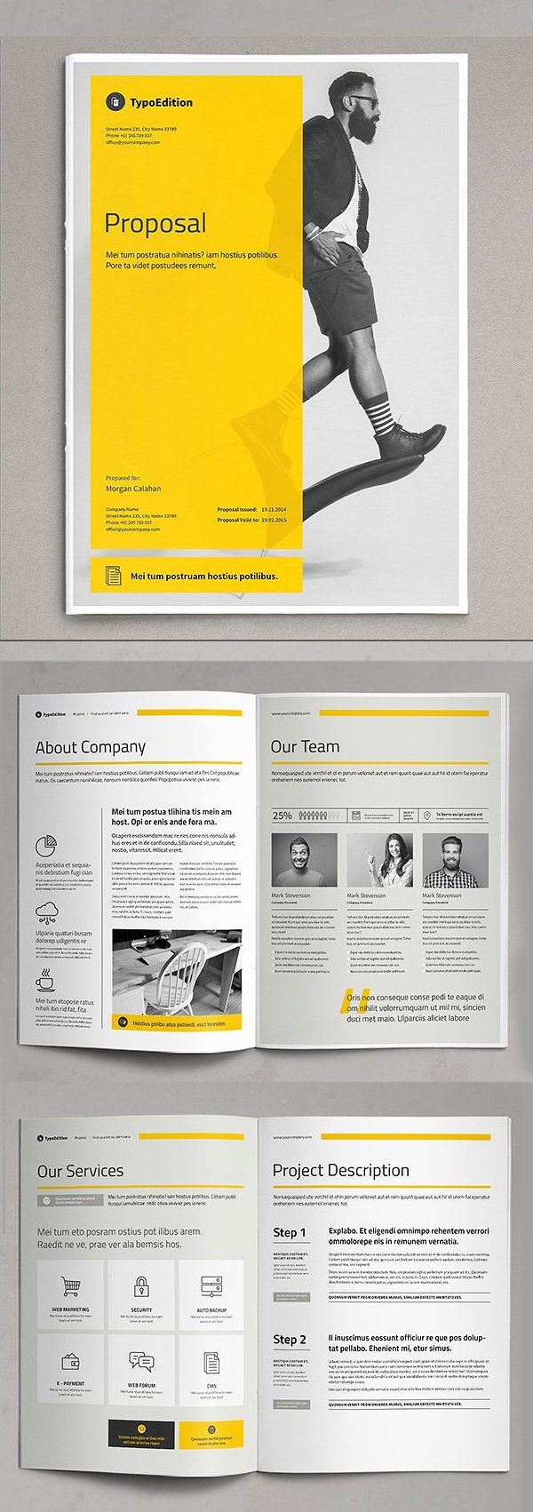 Free Web Design Proposal Template Best Of Business Proposal Templates Design