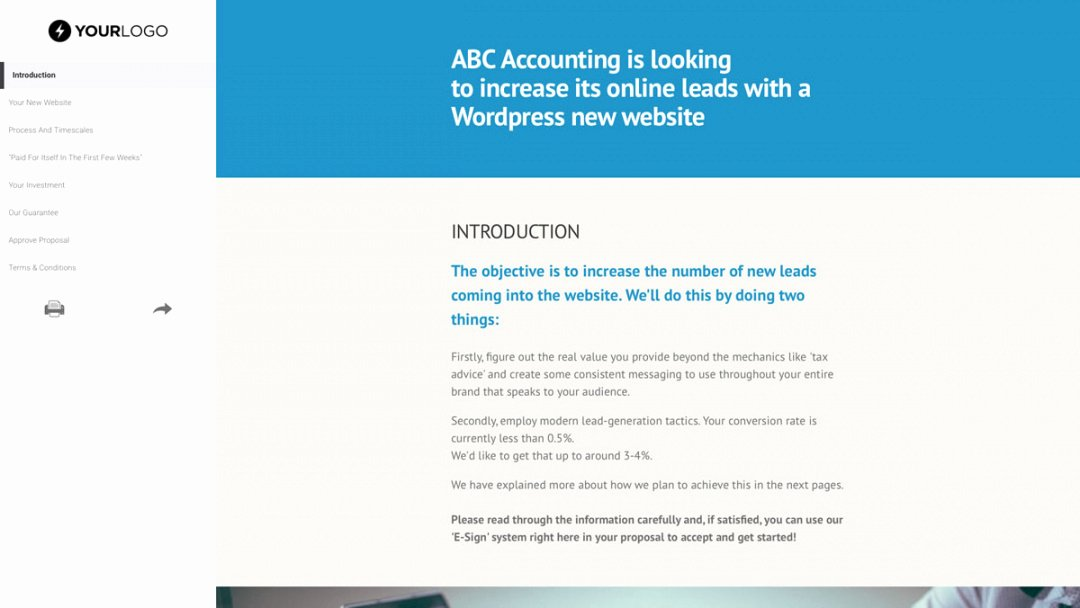 Free Web Design Proposal Template Elegant Web Hosting Proposal Template