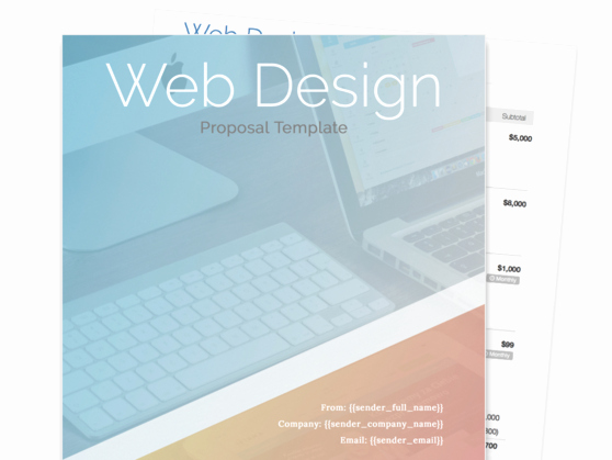 Free Web Design Proposal Template Luxury Find Your Proposal Template