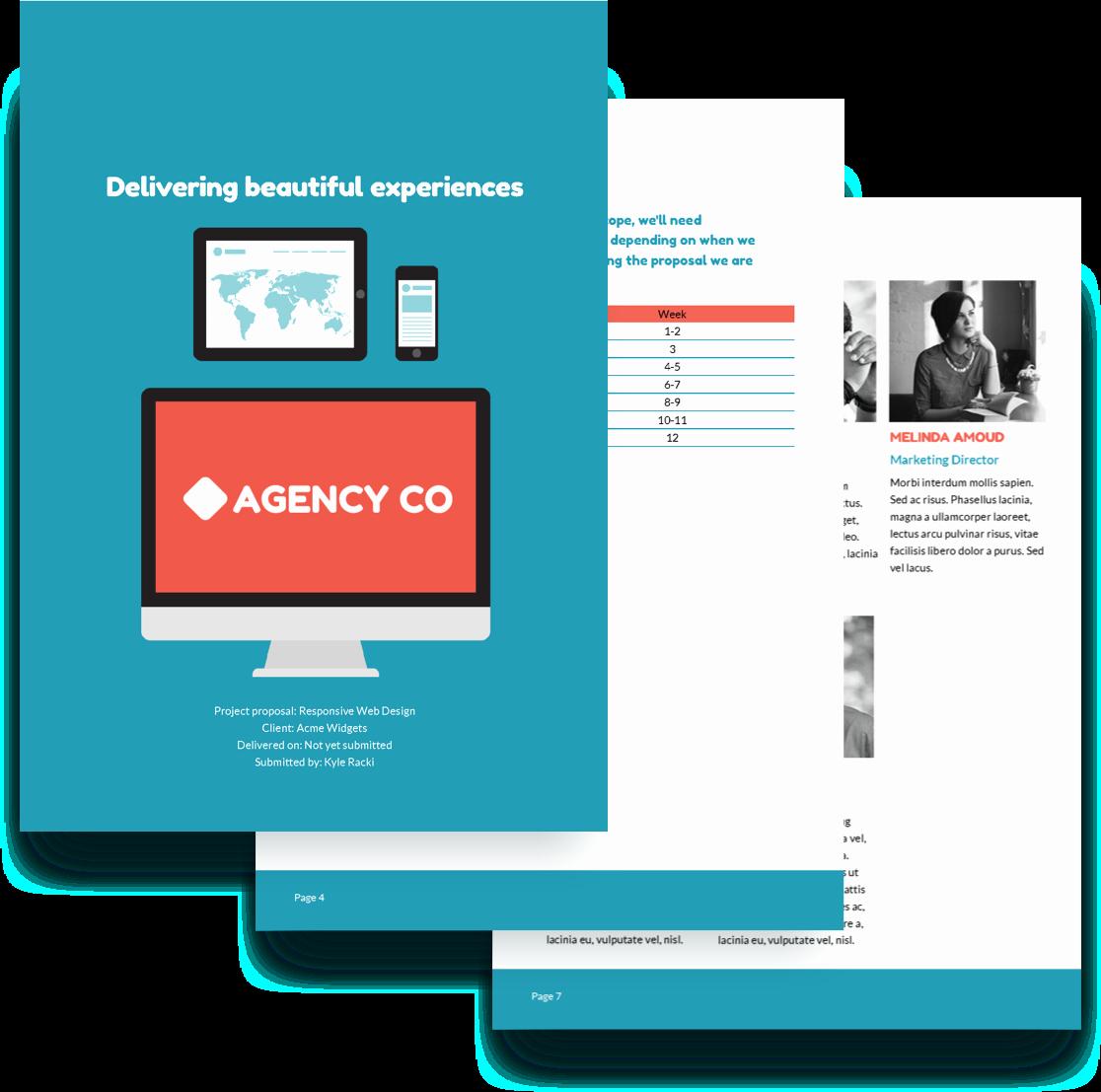 Free Web Design Proposal Template Luxury Web Design Proposal Template Free Sample