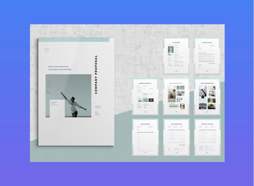 Free Web Design Proposal Template New 20 top Graphic Design Branding Project Proposal