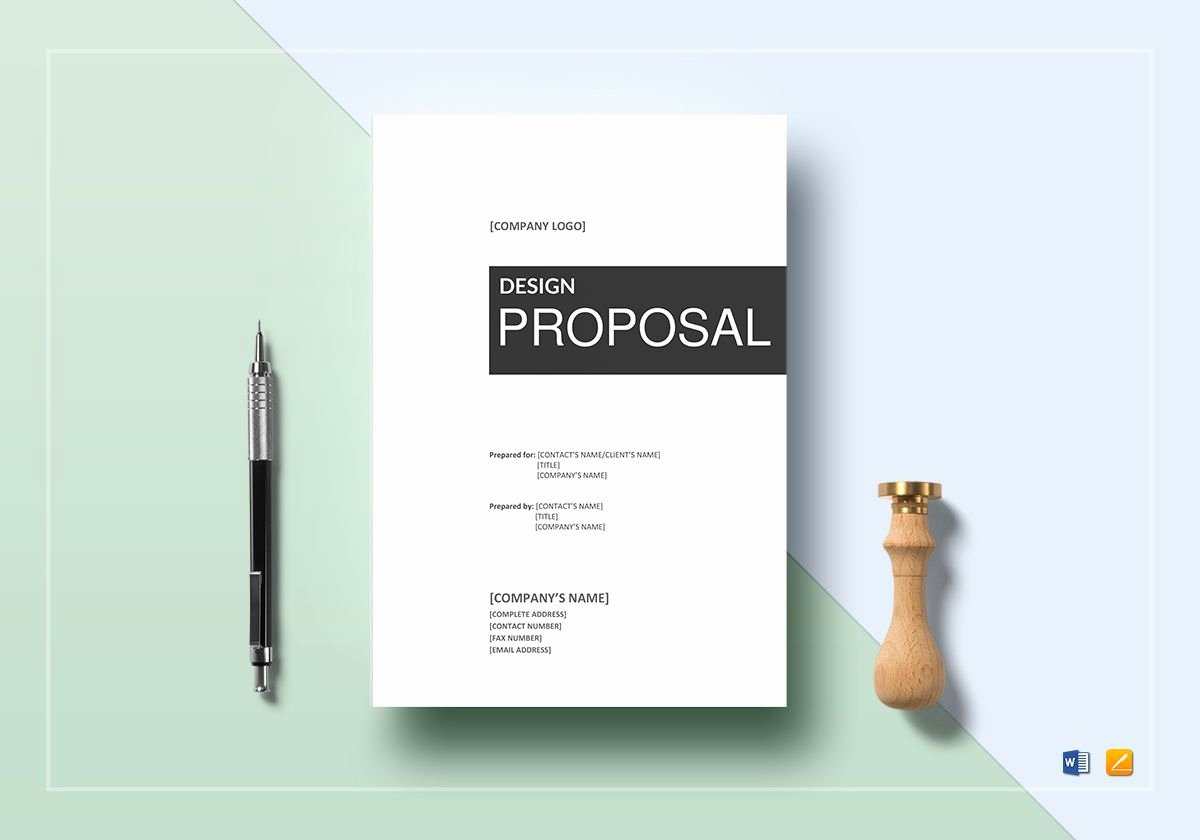 Free Web Design Proposal Template Unique Design Proposal Template In Word Google Docs Apple Pages