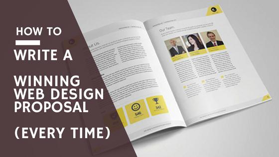 Free Web Design Proposal Template Unique [how to] Write A Winning Web Design Proposal 5 Templates