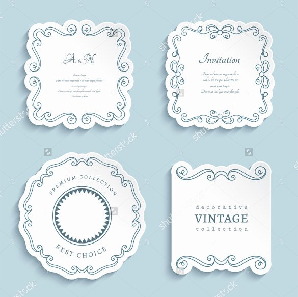 Free Wedding Label Templates Elegant Wedding Label Template – 30 Free Sample Example format