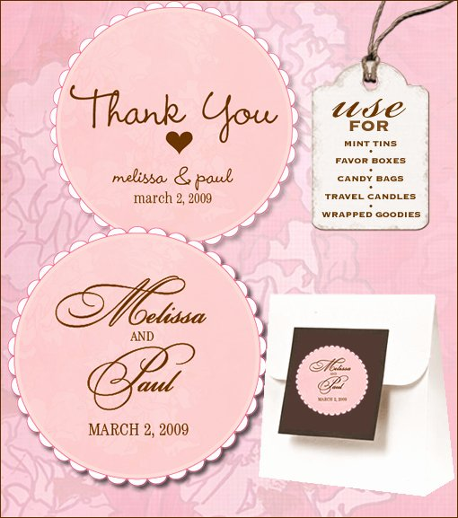 Free Wedding Label Templates Lovely Sweet Retro Free Wedding Labels Download