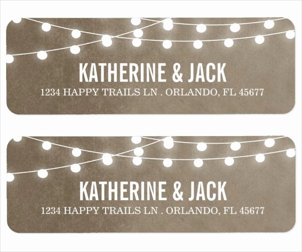 Free Wedding Label Templates Luxury Free Printable Return Address Labels Templates