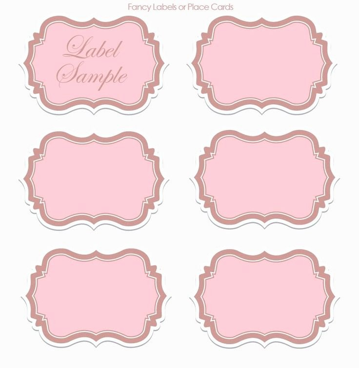 Free Wedding Label Templates Luxury Label Templates