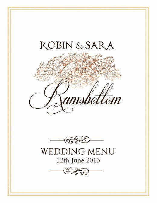 Free Wedding Menu Templates Best Of Free Wedding Menu Design Shop Templates
