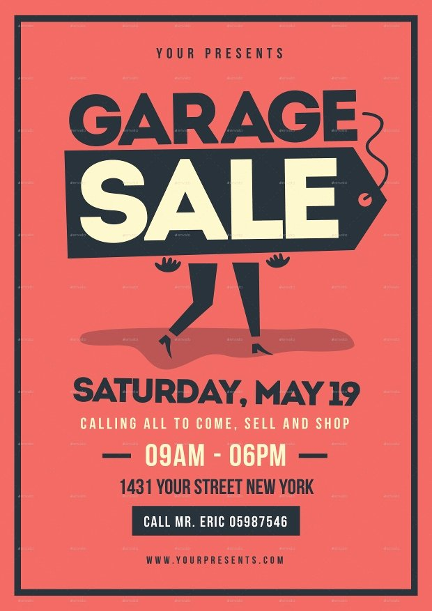 Free Yard Sale Flyer Template Awesome 12 Garage Sale Flyer Templates Printable Psd Ai