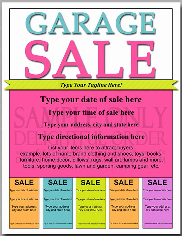 Free Yard Sale Flyer Template Awesome 21 Best Yard Sale Flyer Templates & Psd Word Eps