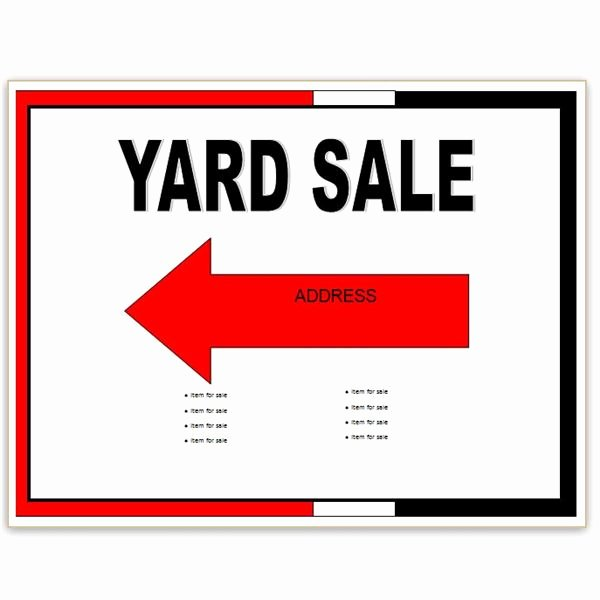 Free Yard Sale Flyer Template Awesome Find Free Flyer Templates for Word 10 Excellent Options