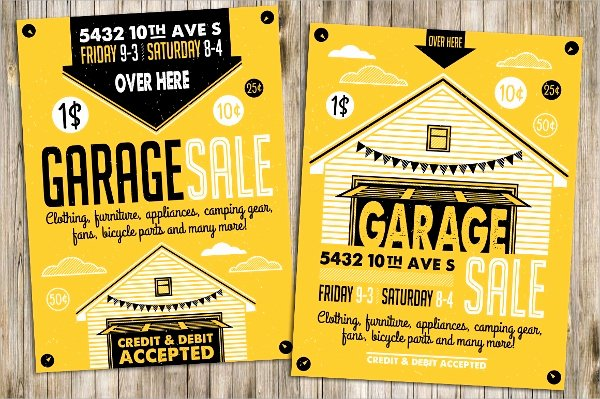 Free Yard Sale Flyer Template Beautiful 27 Yard Sale Flyer Templates Psd Eps format Download