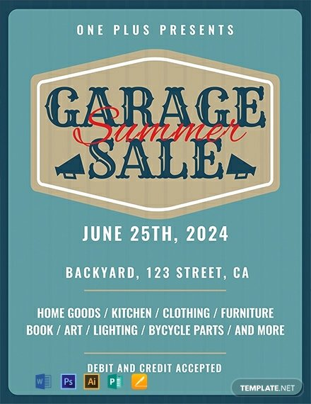 Free Yard Sale Flyer Template Luxury Free Printable Garage Sale Flyer Template Download 1577