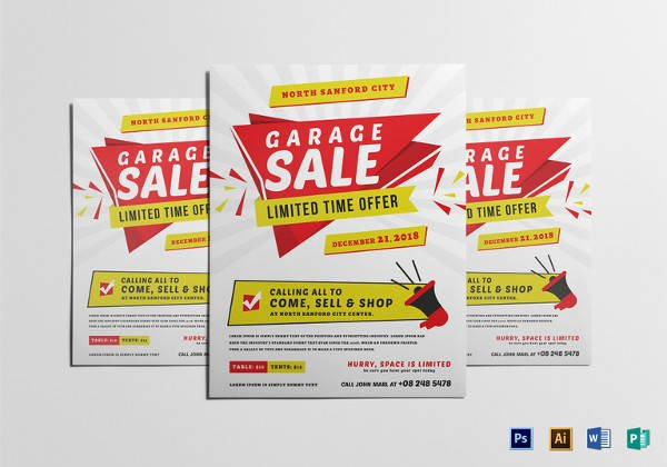 Free Yard Sale Flyer Template Unique 27 Yard Sale Flyer Templates Psd Eps format Download