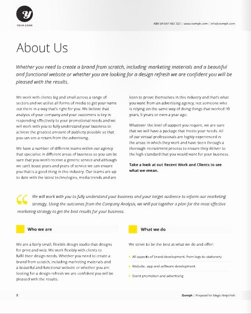 Freelance Graphic Design Proposal Template Beautiful Freelance Designer Proposal Template for at A