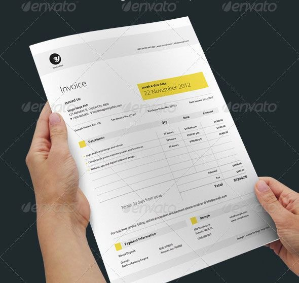 Freelance Graphic Design Proposal Template Fresh 20 Creative Invoice & Proposal Template Designs