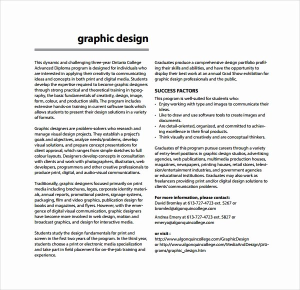 Freelance Graphic Design Proposal Template Inspirational Sample Freelance Proposal Template 13 Free Documents In Pdf