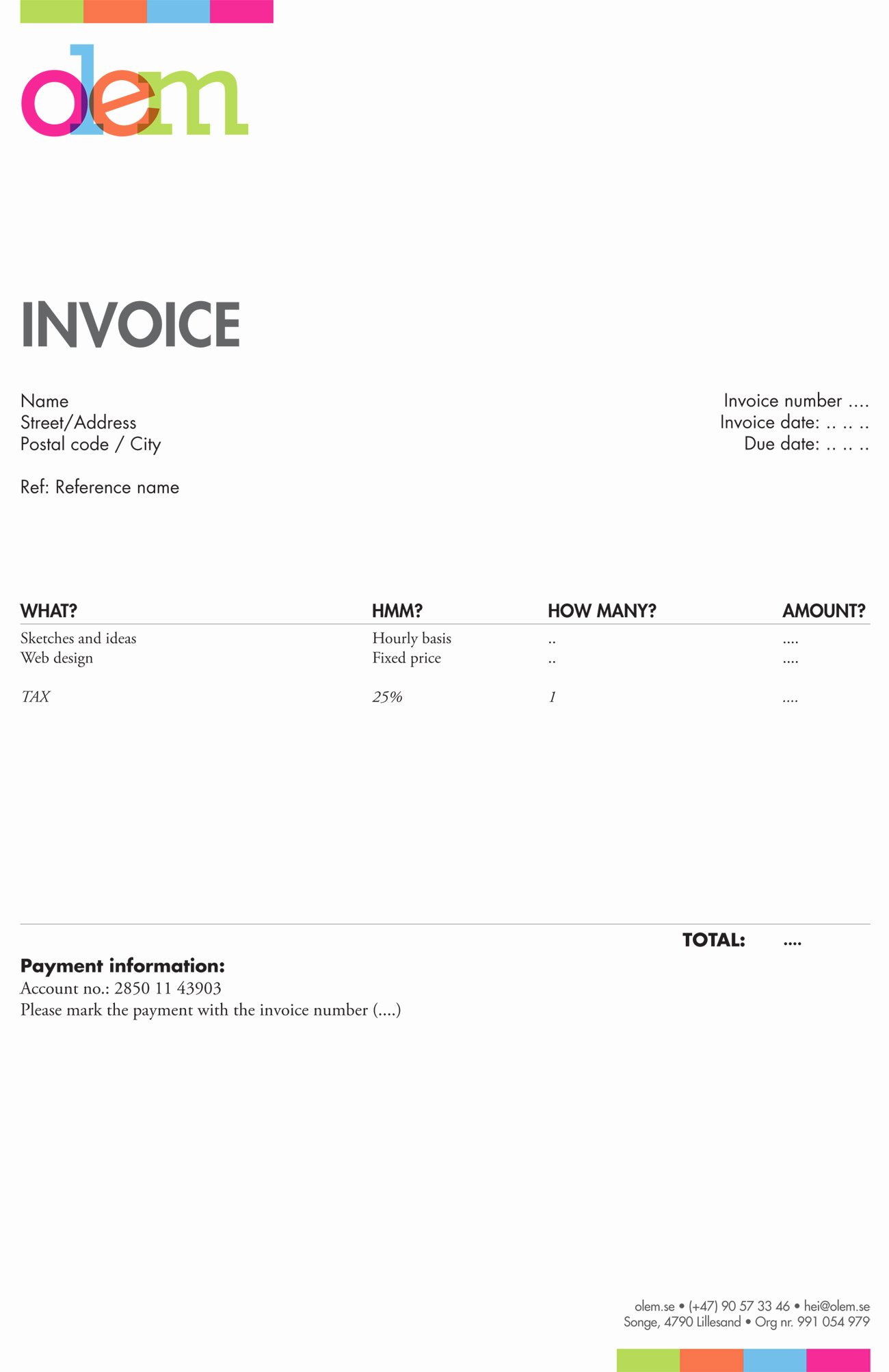 Freelance Writer Invoice Template Best Of Freelance Graphic Design Invoice