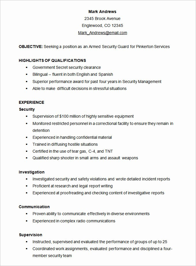 Functional Resume Template Free Unique Functional Resume Template – 15 Free Samples Examples