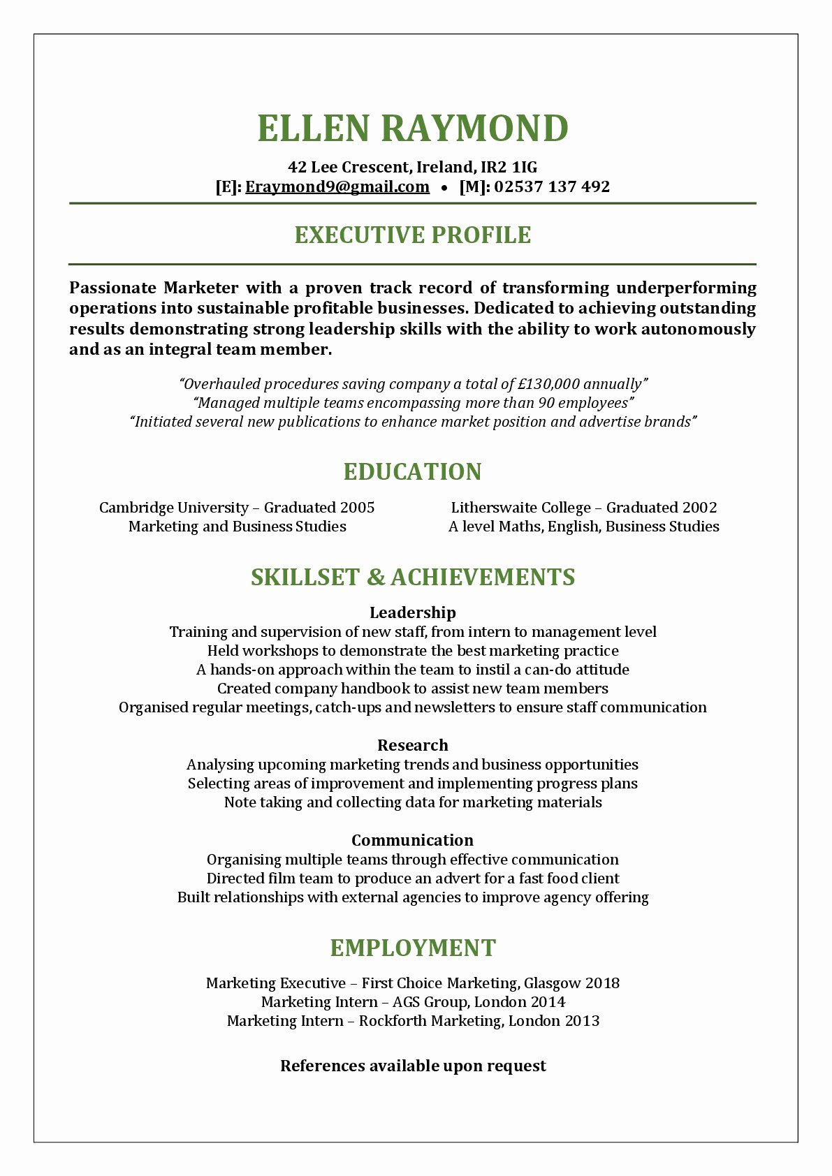 Functional Resume Template Word Awesome Functional Resume Template – Got something to Hide