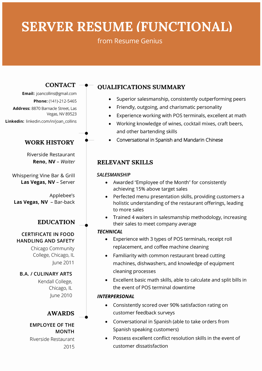 Functional Resume Template Word Awesome Resume format Best Resume formats for 2019