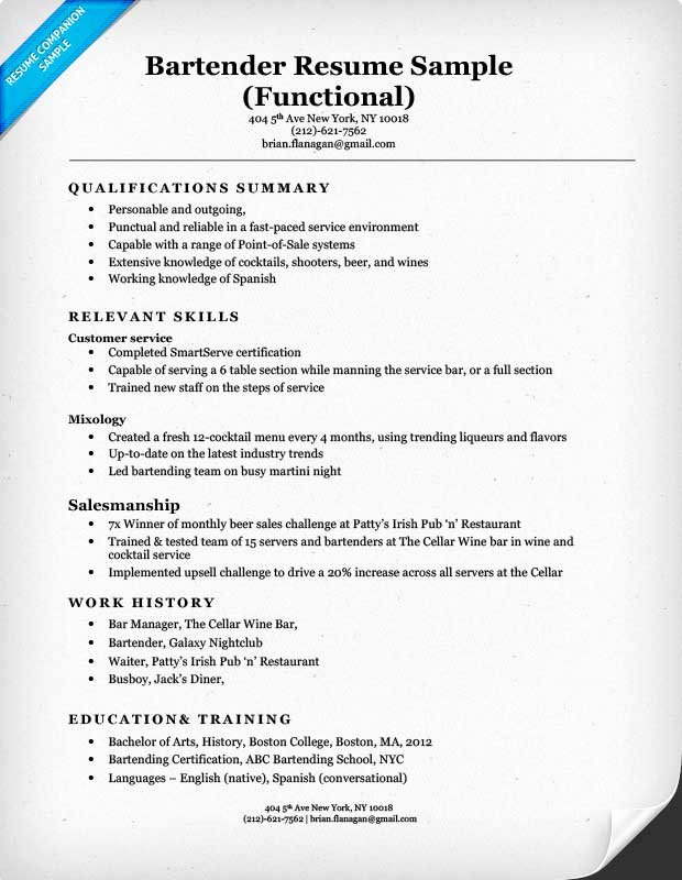 Functional Resume Template Word Elegant Functional Resume Examples & Writing Guide Resume Panion