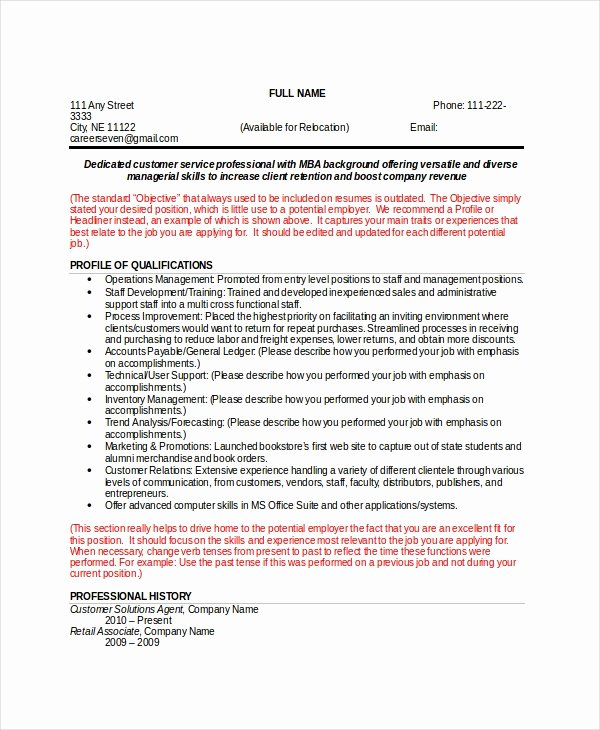 Functional Resume Template Word Luxury Resume Template Word 10 Free Word Documents Download