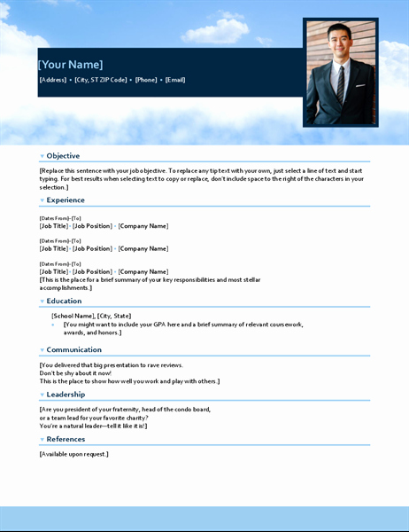 Functional Resume Template Word New Resume Functional Design