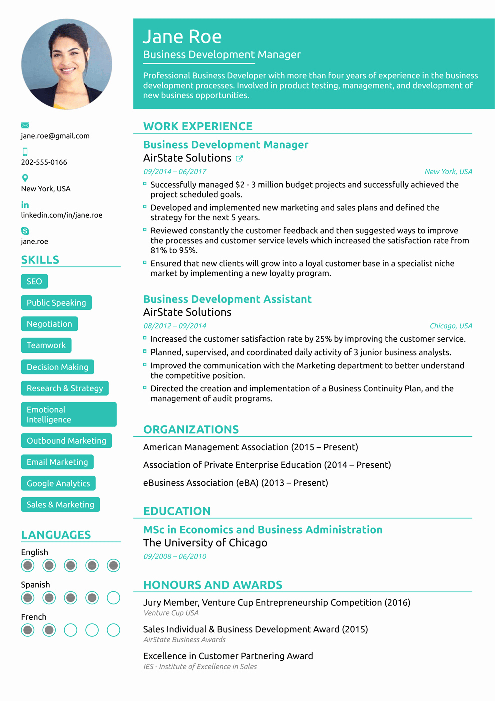Functional Resume Templates Word Luxury 8 Best Line Resume Templates Of 2018 [download & Customize]