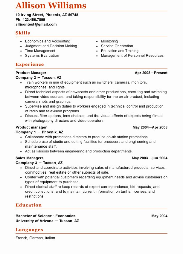 Functional Resume Templates Word Luxury What S New On the Functional Resume Template Market