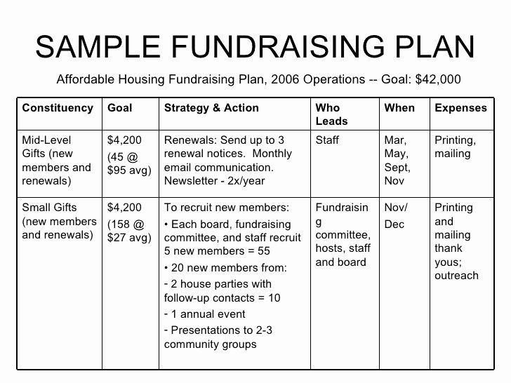 Fundraising Plan Template Excel Lovely Non Profit Example Donation Letters Google Search