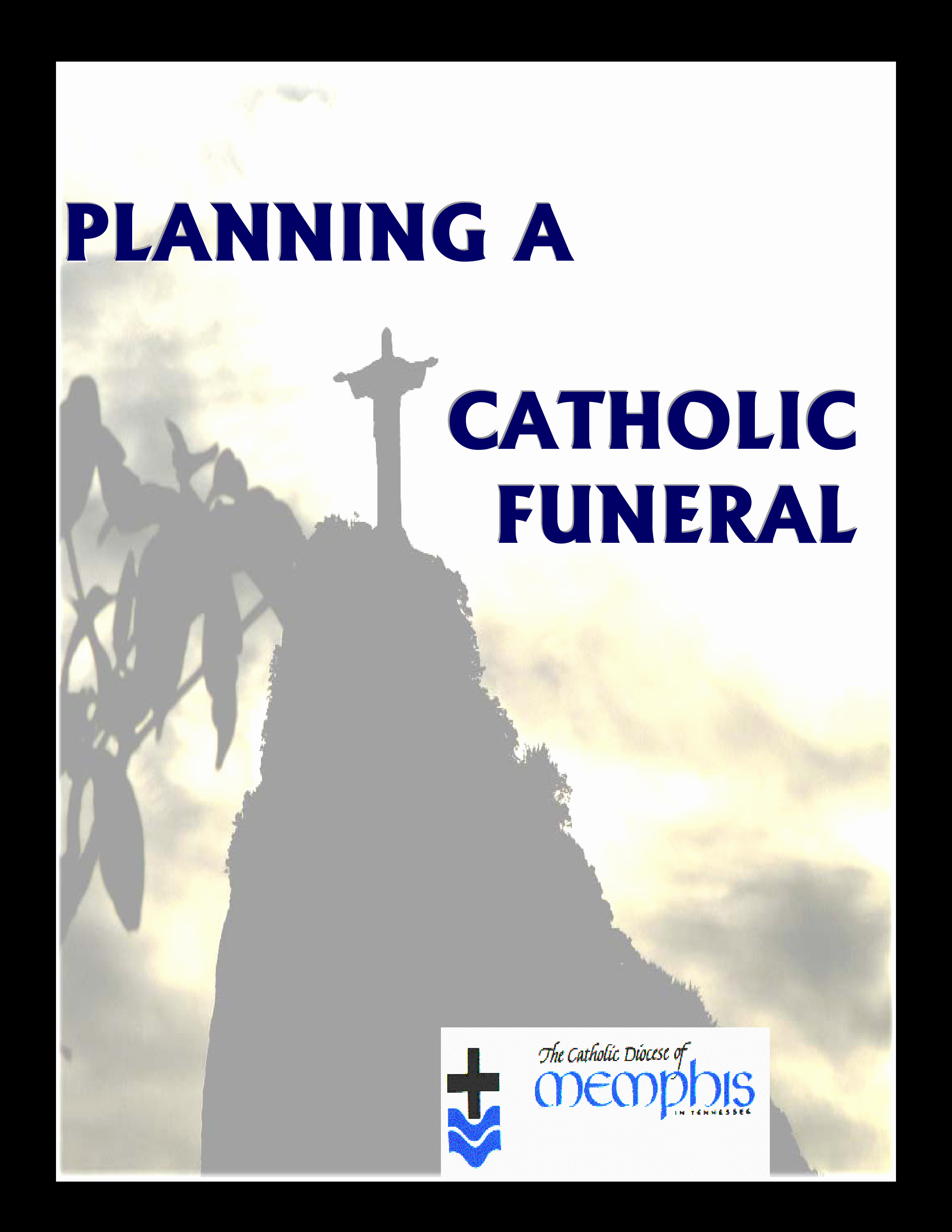 Funeral Mass Program Template Fresh Catholic Funeral Mass Program