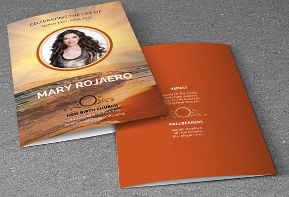 Funeral Memorial Card Template Inspirational 16 Obituary Card Templates Free Printable Word Excel