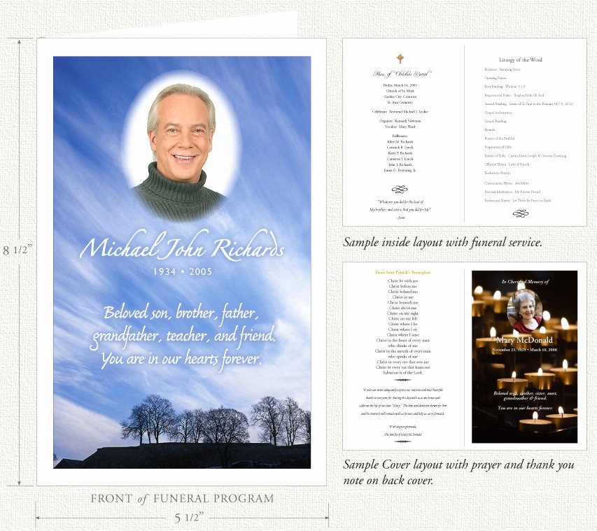 Funeral Memorial Card Template Inspirational Funeral Programs by Memorial Prayer Cards