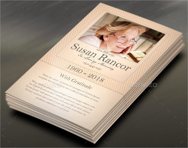 Funeral Prayer Card Template Free Awesome 8 Prayer Card Templates Psd Ai Eps