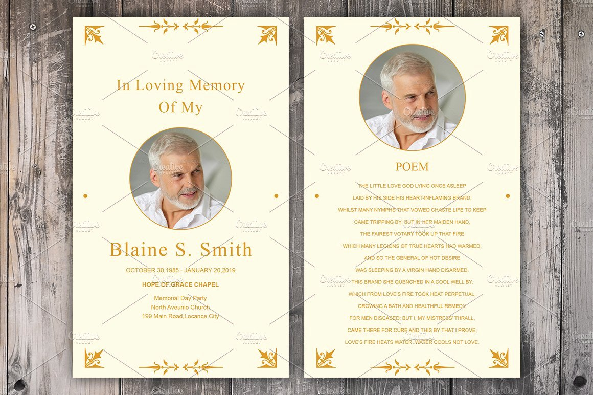Funeral Prayer Card Template Free Inspirational Funeral Prayer Card Template Card Templates Creative