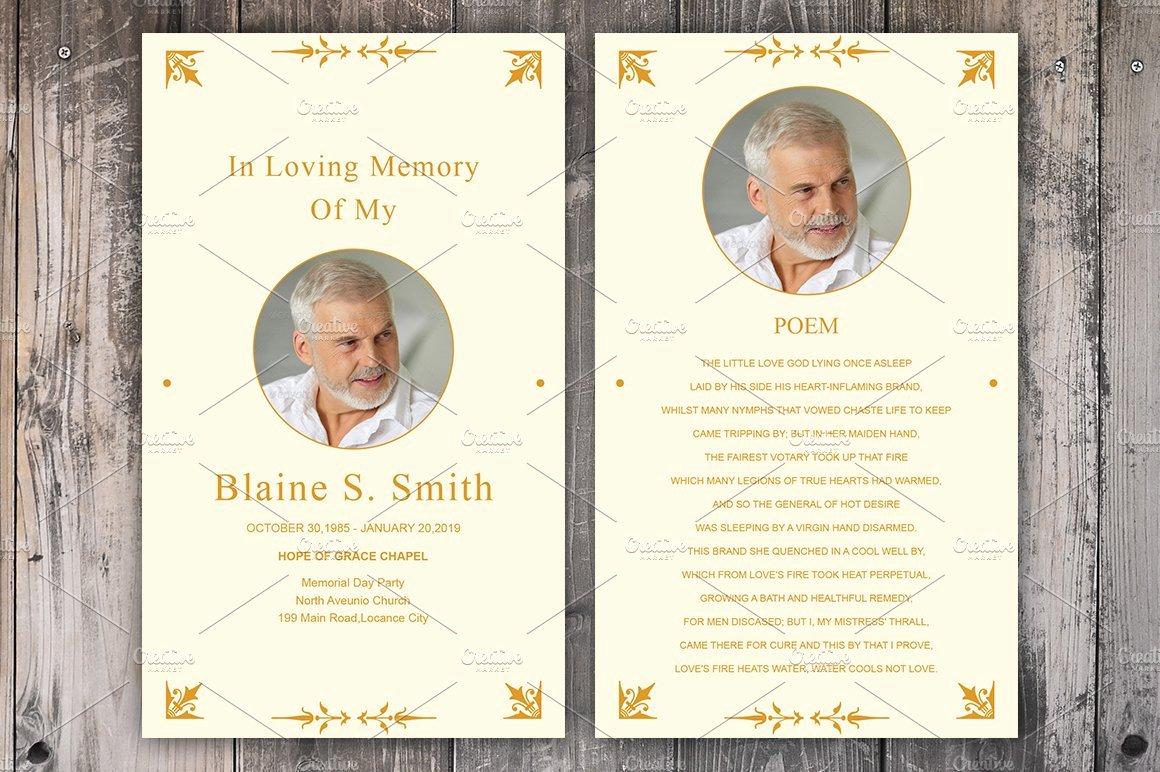 Funeral Prayer Card Template Free Inspirational Funeral Prayer Card Template Card Templates Creative