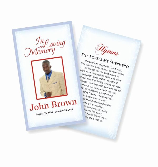 Funeral Prayer Card Template Free Lovely Funeral Prayer Cards Custom Funeral Prayer Cards Children