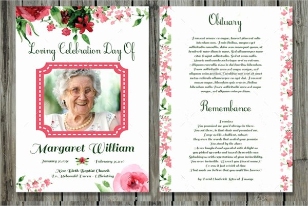 Funeral Prayer Card Template Free New Funeral Prayer Cards Templates Free Download Aashe