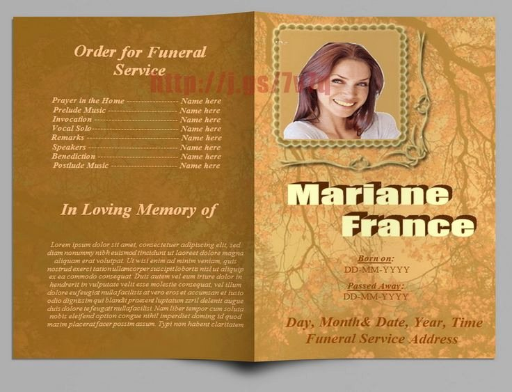 Funeral Program Template Microsoft Word Awesome 79 Best Images About Funeral Program Templates for Ms Word