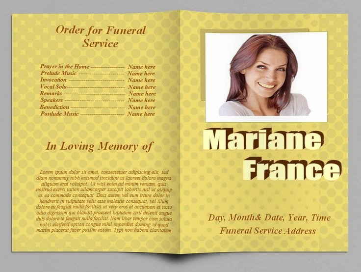 Funeral Program Template Microsoft Word New 79 Best Images About Funeral Program Templates for Ms Word