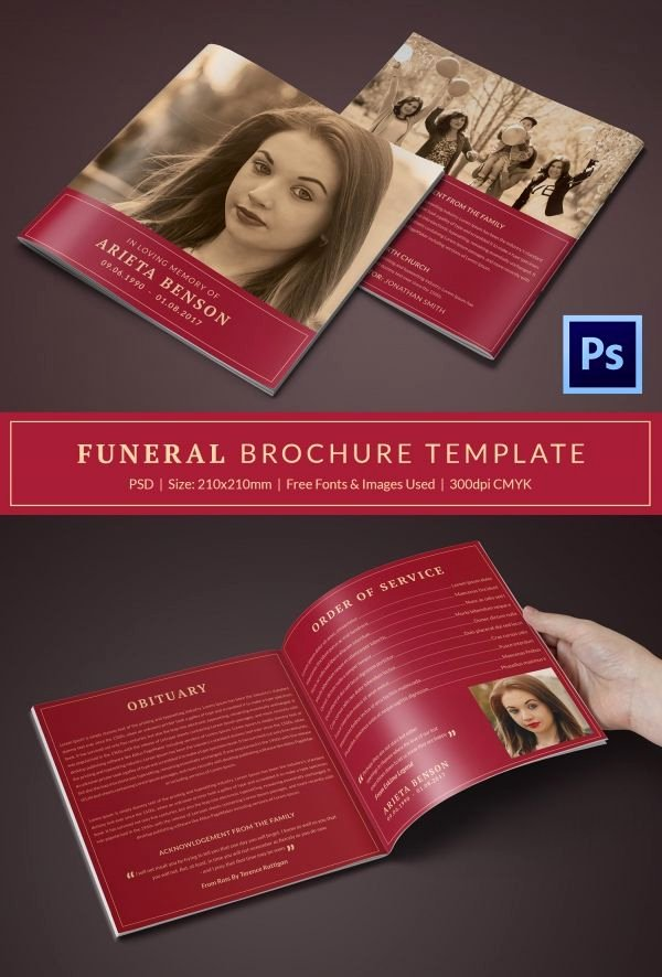 Funeral Program Templates Free Best Of 31 Funeral Program Templates – Free Word Pdf Psd