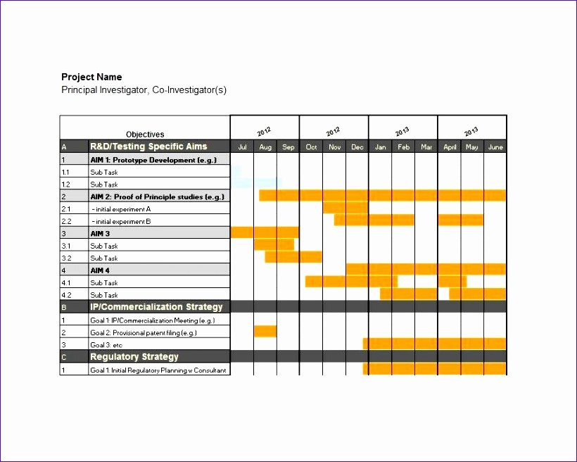 Gantt Chart Template Word Beautiful 8 Excel Simple Gantt Chart Template Exceltemplates