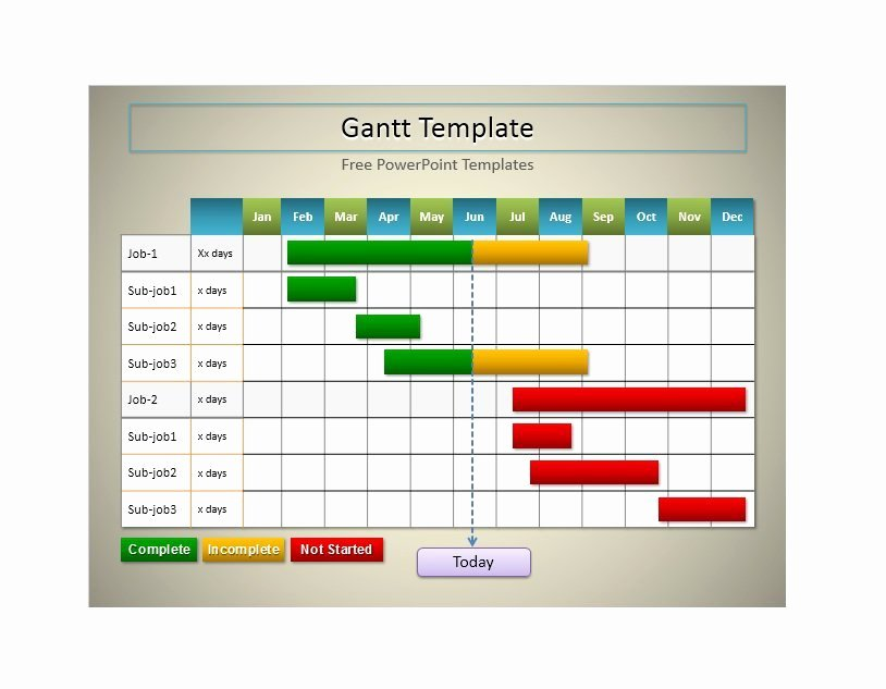 Gantt Chart Template Word Luxury 36 Free Gantt Chart Templates Excel Powerpoint Word