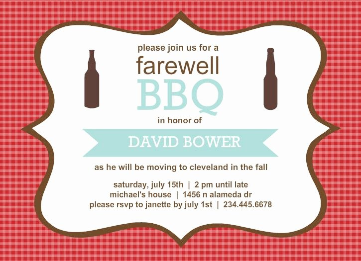 Going Away Card Template Awesome 9 Best Party Invites Images On Pinterest