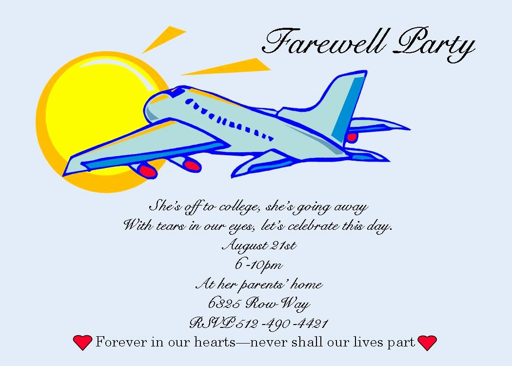 Going Away Card Template Fresh Free Printable Farewell Cards