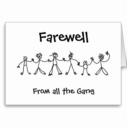 Going Away Card Template Inspirational 20 Best Images About Ccfarewell Going Away On Pinterest