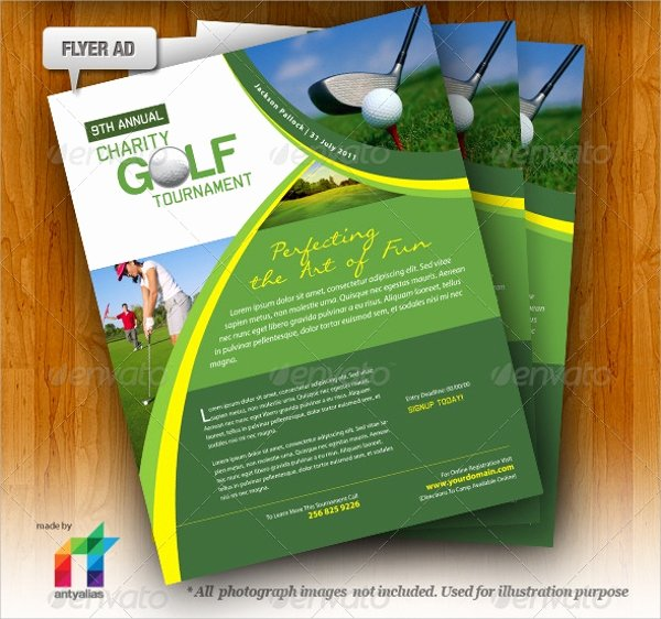 Golf tournament Brochure Template Fresh Golf tournament Brochure 20 Download In Vector Eps Psd