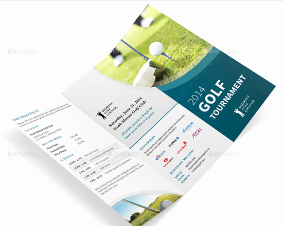 Golf tournament Brochure Template New 10 Popular Free and Premium Golf Brochure Templates